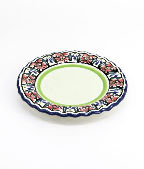 Plato duquesa de cerámica en colores estilo talavera libre de Plomo